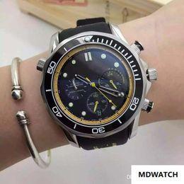 $enCountryForm.capitalKeyWord Australia - NEW LUXURY WATCH mens Limited Edition watch quartz Movement men's stopwatch men watches stainless steel wristwatch black