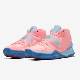 shoe heating Australia - Authentic Concepts Kyrie 6 GS Golden Mummy Pink Tint Vast Men Basketball Shoes Irving 6s Turquoise Cherry Red Pre-Heat Tokyo Sports Sneakers