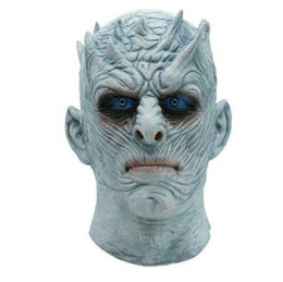 Chinese  Movie Game of Thrones Night King Mask Halloween Realistic Scary Cosplay Costume Latex Party Mask Adult Zombie Props manufacturers