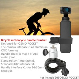 Security Cameras Mounting Brackets Australia - Outdoor Bike Mount Holder Security Pocket Handle Clamp Travel Riding Camera Bracket Accessories Bicycle Holder For DJI OSMO #125 #225693