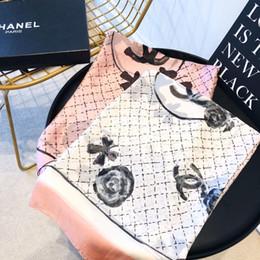 Nova marca new mulheres cachecol de seda moda lenços de impressão xailes macios pashmina foulard femme tamanho longo 180x90 cm venda por atacado