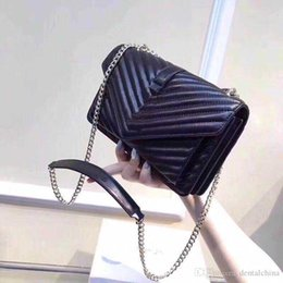 luxury chains Australia - high quality Fashion messenger mini bag Genuine Leather shoulder crossbody bags for women 2019 Luxury chains Handbags