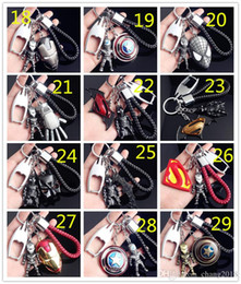 China 98 styles Hot Sales Hulk The Avengers Key Chain Ring Pendant Creative Car Styling Purse Bag Backpack Car Keychain Car Accessories 190426 cheap hot blue movie styles suppliers