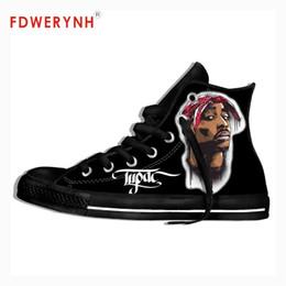 $enCountryForm.capitalKeyWord Australia - 2pac Tupac Shakur R.I.P Men's Women's Custom Casual 3D Print Outdoor Leisure Mens Men's Custom Casual Canvas Shoes
