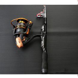 Pole For Fishing Australia - 1.5-2.3m Portable Mini Carbon Fibe Fishing Rod Pole for Sea River Lake Boat Fishing High Strength Rods