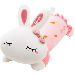Discount giant soft toy rabbit Dorimytrader kawaii rabbit plush toy giant soft bunny girl sleeping pillow doll birthday gift Valentine's Day prese