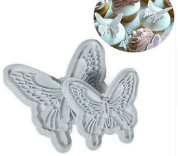 $enCountryForm.capitalKeyWord UK - Baking Tools New 2pcs Set Butterfly Cookie Plunger Cutters Mould Cake Fondant Decorating mould Dough Ice Pastry Slicer 70