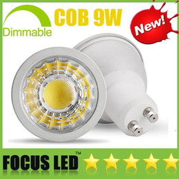 b22 downlight Australia - Bright COB 9W Led bulbs Dimmable Led Spot Light GU10 E27 E14 GU5.3 110-240V MR16 DC12V Spotlight Display Downlight Lights House Lamps CE UL