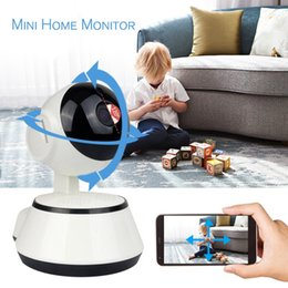 Audio Ip Camera Australia - WiFi IP Camera Baby Monitor 720P HD Smart Baby Camera Audio Video Record Night Vision Remote Surveillance Home Security