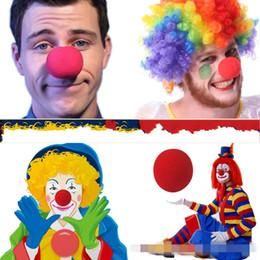$enCountryForm.capitalKeyWord Australia - Magic Red Sponge Balls Clip Circus Clown Nose Comic clown red nose Halloween Christmas Party supplies children gift