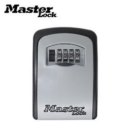 Lock key storage online shopping - Master Password Hidden Storage Key Box Alloy Steel Lock Office Warehouse Room Keys Bins Quality Goods Decoration Business Gifts sj E1
