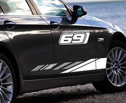 $enCountryForm.capitalKeyWord Australia - 2PCS Set 691 Car Color Stickers Body Decorative Modified Covers