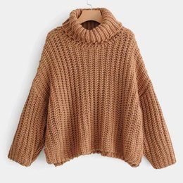 Korean style sweater online shopping - New Autumn Winter Women s Sweaters Tops Pullovers Korean Minimalist Sweet Style Elegant Casual Solid Color Top J30