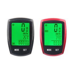 Bike Function UK - Bicycle Computer Speedometer Wireless & wired Mileage Multi-function LED Back Light Waterproof Stopwatch Bike Accessories #359103