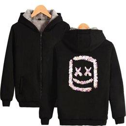 Zipper Sweatshirt Hood NZ - Marshmello Mens Zipper Hoodies Designer luxury Hoodie Men Women Casual Pullover Fleece winter Hip Hop Streetwear Sweatshirt Harajuku Hood