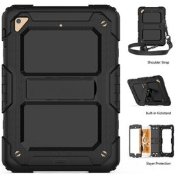 $enCountryForm.capitalKeyWord Australia - 3 Layers Case for iPad Mini 5 2019 Heavy Duty Shockproof Hand Shoulder Strap Kids Stand Case Cover for iPad Mini 5 Mini 4