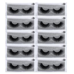 $enCountryForm.capitalKeyWord NZ - 10Pairs lot 3D Mink Lashes Natural HandMade Full Strip Lashes Transparent terrier Short Mink Style False Eyelashes