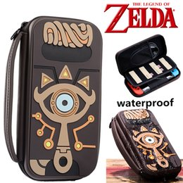 $enCountryForm.capitalKeyWord Australia - ostumes Accessories Costume Props The Legend of Zelda Sheikah Slate Storage Bag Cosplay Props Psp Carrying Water-resistent Case Bags Sili...