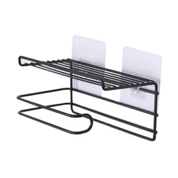 ir tools Canada - Bathroom Towels Storage Rack Makeup Cosmetic Storage Shelf Ir on Toilet Roll Paper Holder Kitchen Tools Organizer Black
