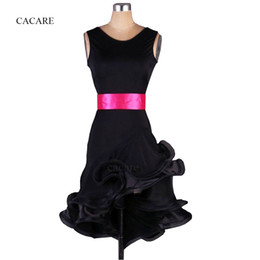 Women latin dance costumes online shopping - Latin Dance Dress Women Adult Costume Salsa Standard Dance Dresses Colors Styles CADL003