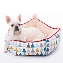 $enCountryForm.capitalKeyWord Australia - Puppy Dog Bed Warm House Sleeping Bag Soft Kennel For Small Medium Dog Cat Sleep in Cold Winter Washable Nest Kitten Cushion Mat