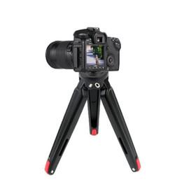 $enCountryForm.capitalKeyWord UK - Desk Cameras Tripod Mount Holder Aluminum Alloy DSLR Camera Selfie Stick Stabilizer Bracket For Living Stream
