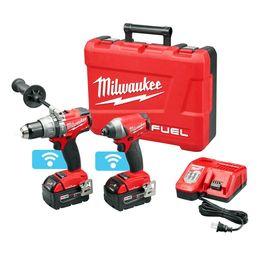 Milwaukee 2795-22 M18 COMBUSTIBLE Kit combinado de 2 herramientas con alimentación inalámbrica de 18 voltios con una llave en venta