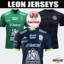 bf0bd6d42 Soccer team club jerSey online shopping - 2018 Mexico Club LEON FC Soccer  Jersey Home Third