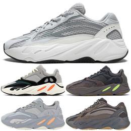ee2e8a5f2 2019 Adidas Yeezy Mauve 700 Wave Runner Hombre Mujer Diseñador Zapatillas  Nuevo 700 V2 Static Best Quality Kanye West Calzado deportivo con caja  5-11.5