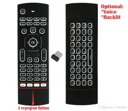 $enCountryForm.capitalKeyWord Australia - 10pcs MX3 T3 2.4GHz Wireless Air Mouse Mini Keyboard Backlit Remote Controller Game Player Gyroscope G-sensor for PC Laptop TV Set-top Box