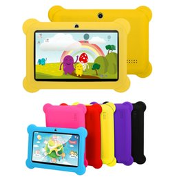 9.7 android tablet online shopping - 7 Kid s Tablet PC A33 Quad Core GB HD Android GB Dual Camera WiFi Bundle