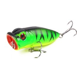 $enCountryForm.capitalKeyWord UK - 20pcs1pcs Popular 7cm 11.8g Popper Lure Hard Artificial Bait With 2 Treble Hooks Fishing Wobblers Crankbait Pesca Iscas C19041201