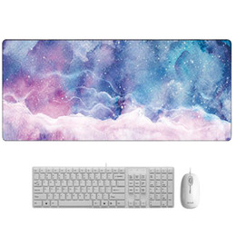 Discount marbles games - Creative Marble Color Large Game Desktop Mouse Pad Game Player Solid Color Lock Edge Keyboard Mouse Pad Grand Desktop