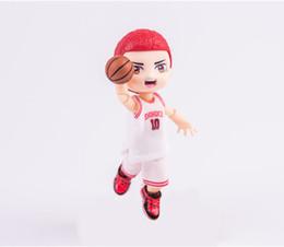 $enCountryForm.capitalKeyWord Australia - Carton SLAM DUNK Sakuragi Hanamichi Q Version White No.10 PVC Action Figure Model Toy