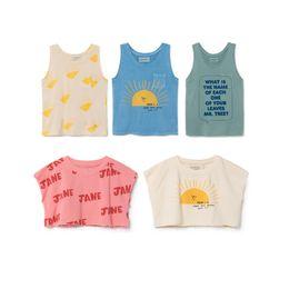 Sleeveless T Shirts For Kids Australia - Bobozone New Bobo Tank For Baby Boys Girls Kids Sleeveless T-shirt Y19051003