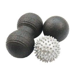 $enCountryForm.capitalKeyWord Australia - EPP Bumpy Spiky Massage Ball Muscle Relax Equipment For Deep Tissue Massage Peanut Ball Glossy Yoga Set