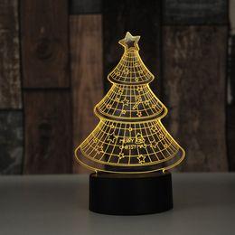 $enCountryForm.capitalKeyWord NZ - New led colorful night light usb acrylic creative 3d small table lamp Christmas gift can be customized