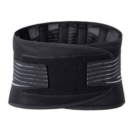 Wholesale Lumbar Waist Support Back Brace Belt Waist Support Brace Fitness Sports Protection Posture Corrector Rebuild