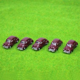 ho cars Canada - 5PCS model Classic Cars 1:100 TT HO Scale for Building Railway Train Scenery NEW C10012 railway modeling
