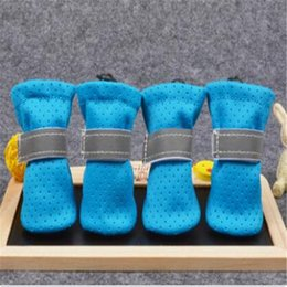 new fashionable shoes NZ - 2020 Fashionable Zipper Design Shoes Breathable Soft Sole Anti-fouling Dogs Shoes Small Teddy Dog Pet Winter Shoes
