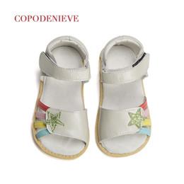 Beautiful Girls Summer Shoes Australia - Copodenieve Summer Style Children Sandals Girls Princess Beautiful Flower Shoes Kids Flat Sandals Baby Girls Roman Shoes Y19051303