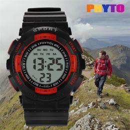$enCountryForm.capitalKeyWord Australia - Fashion Sport Watch Digital High-End Multi-Function 30M Sports Waterproof Electronic Watch Wrist Watches Men Relogio waterproof