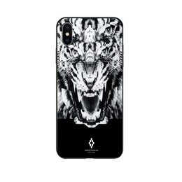 Hot Sales Iphone Case NZ - Brand Phone Case for Iphone 6 6s,6p 6sp,7 8 7p 8p X XS,XR,XSMax Designer MARCEL@ BURL@N Animal Print Back Cover Hot Sale 6 Styles Wholesale