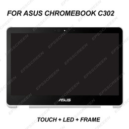 $enCountryForm.capitalKeyWord NZ - WITH FRAME 12.5INCH B125HAN02.2 For ASUS C302 Assembly Laptop LCD Screen Display Panel with Touch Screen 1920*1080