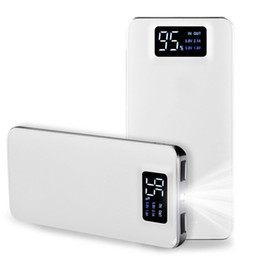 powerbank power bank 2019 - Power Bank 20000mAh For Xiaomi Mi 2 USB PowerBank Portable Charger External Battery Poverbank For iPhone 7 6 5 4 X 8 che