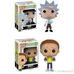 $enCountryForm.capitalKeyWord Australia - 2pcs a lots Funko Pocket Pop! funko pop Rick and Morty Toys & Gifts Key button model doll new 2 styles