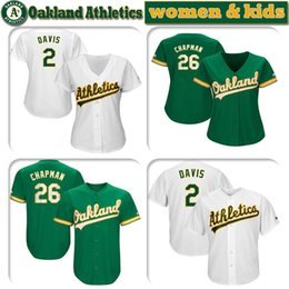 $enCountryForm.capitalKeyWord Australia - Custom womens & kids knit Jersey Oakland players 2 Khris Davis 26 Matt Chapman 28 Matt Olson 19 Josh Phegley Athletics Baseball Jerseys