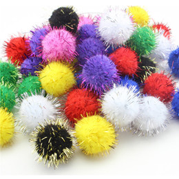 $enCountryForm.capitalKeyWord NZ - DIY Craft Supplies CCINEE 10 15 20 25mm Glitter Polypropylene Mini Fluffy Soft Pom Poms Pompoms Ball Handmade Kids Toys DIY Craft Supplies