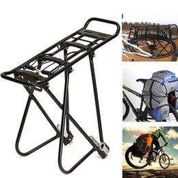 24 Inch Bicycle Australia - Bicycle Luggage Carrier Cargo Rear Rack Shelf Cycling Seatpost Bag Holder Stand for 24-27 inch bikes with Install Tools #689065