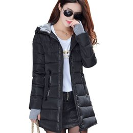 Women slim fit parka online shopping - Warm Winter Jackets Women Fashion cotton padded Parkas Casual Hooded Long Coat Thicken Zipper Slim Fit Plus Size Long Parka ss